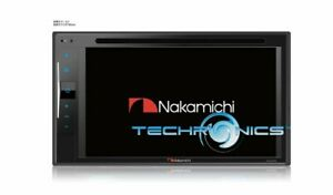 """NAKAMICHI NA2300 2DIN 6.2"""" TOUCHSCREEN AV DVD/CD RECEIVER WITH BLUETOOTH AND USB"""