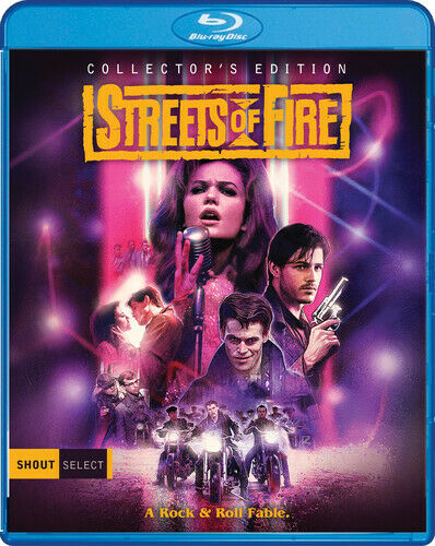 Streets of Fire (2 Disc, Collectors Edition) BLU-RAY NEW