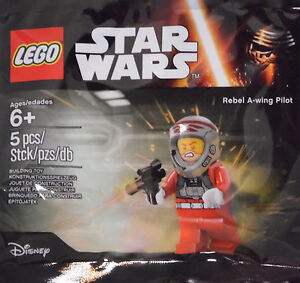 Lego-star-wars-rebel-pilote-A-wing-5004408-scelle-polybag-neuf-va-avec-75150