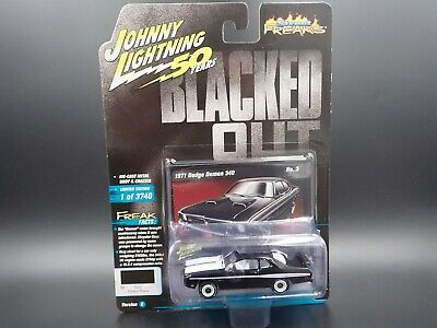 Johnny Lightning 1971 Dodge Demon 340 Street Freaks Blacked Out VS B REL 3 NO 3