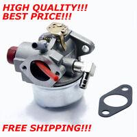 Carburetor For Tecumseh 6 6.25 6.5 6.75hp Sears Craftsman Mtd Yard Machine