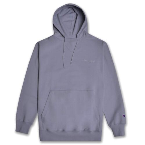 Champion Mens Big Tall Pullover Vintage Wash Hoodie with Embroidered Script Logo