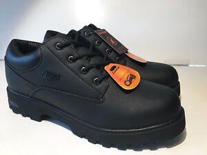 64012abd21a7 Lugz Men s Empire Lo Sp Flexastride Shoe (1043) Black Scuff Size 12 ...