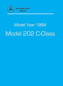 mercedes benz c class w202 service manual ebay rh ebay ie mercedes-benz c-class (w202) repair manual mercedes-benz c-class (w202) repair manual