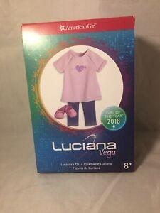 American Girl Luciana Vega Pajama Set NEW In Box