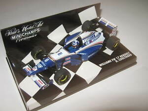 1-43-Williams-Renault-fw17-D-Couthard-1995-MINICHAMPS-430950006-neuf-dans-sa-boite-NEUF