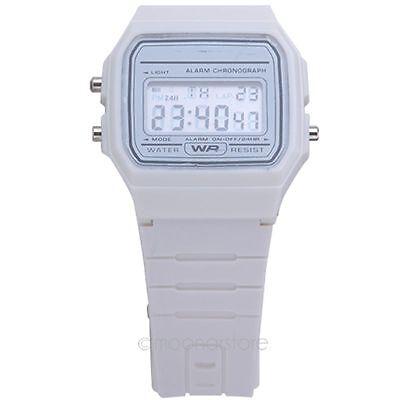 New Fashion Silicone Rubber Alarm Date Day Stopwatch Sports Jelly Wrist Watch