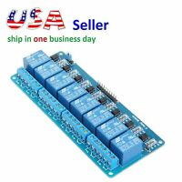 8 Channel Relay Module 5v Isolation Control 250v10a With Optocoupler For Arduino