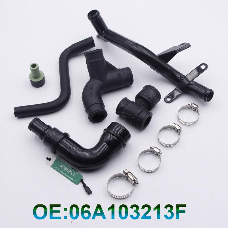 A6 VW Passat Crank Case Breather Hose w//Vent Valve Fits Audi A4