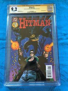Hitman-1-DC-CGC-SS-9-2-Signed-by-Garth-Ennis-John-McCrea-Batman