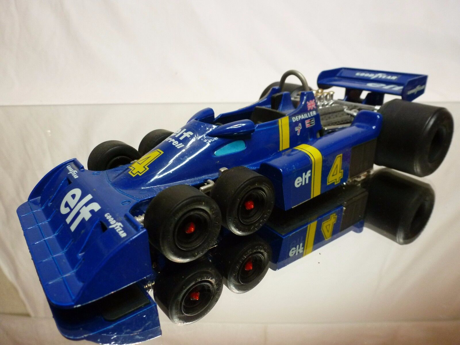 EIDAI GRIP - TYRRELL P34 6 WHEEL COSWORTH ELF - DEPAILLER - F1 blu 1 20 - GOOD