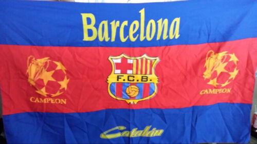BANDERAS DEL BARCELONA FC