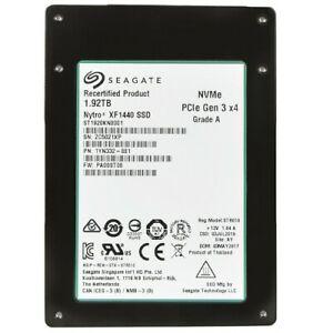 Seagate-Nytro-XF1440-2-5-034-1-92TB-Flash-SSD-PCIe-Gen-3-0-x4-NVMe-eMLC-NAND