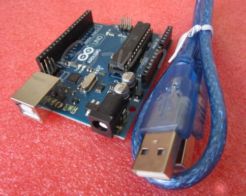 1PCS NEW ATMEGA328P-PU//ATMEGA8U2 UNO R3 BOARD FOR ARDUINO USB Cable