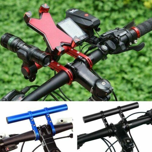 Bicycle Extender Handlebar Extension Mount Bike Handle Bar Bracket Holder 20cm