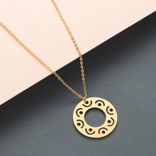 Good Karma Buddha Pendant Thin Chain Silver Charm Necklace Minimalist Jewelry