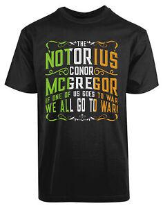 The-Notorius-Conor-Mcgregor-New-Men-039-s-Shirt-Together-We-Win-War-Zone-Victory-Tee