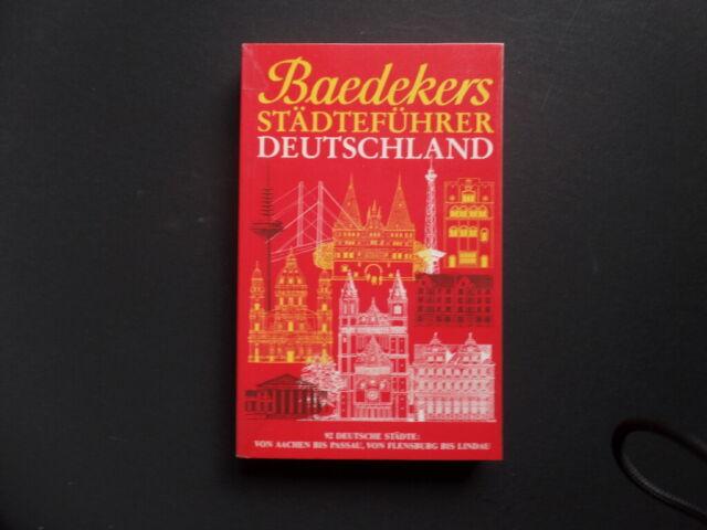 Reiseführer - Baedecker Städteführer Deutschland - TB TOP-Zustand