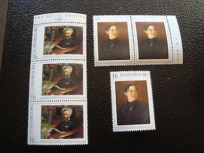 1346 1347 X3 N Briefmarke 2019 Offiziell a17 Klug Luxemburg Briefmarke Yvert Und Tellier Nr