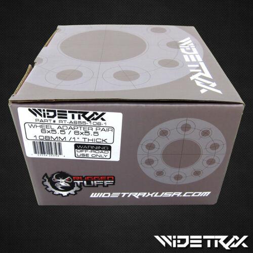 "1/"" Wheel Spacers 6X139.7 14X1.5 New Fits Chevrolet 12-Lug 2pc Set 38mm Thick"