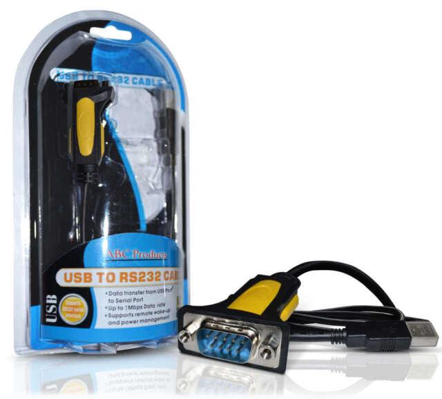 PL-2303 USB a Serial RS232 Cable Adaptador De Puerto Com RS-232 DB-9 Prolífico Chipset