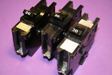 Federal Pacific 20 Amp 1 Pole Breaker Type Nb Bolt On