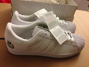 RARE ADIDAS ADICOLOR NYC W6 TRAINERS SIZE US 12 SUPERSTAR FORESHILLS 35TH Y3 PT