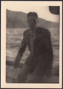 YZ1093-In-viaggio-verso-Capri-Fotografia-d-039-epoca-1958-vintage-photo