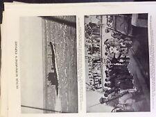 a1w ephemera ww2 picture 1942 dutch submarine sinks italian ship isarco