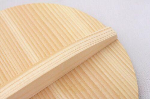 Natural Wooden Otoshibuta 20cm 22cm 24cm Kitchen Goods pot lid MADE IN JAPAN