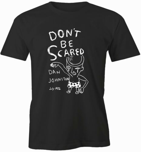 DANIEL JOHNSTON Iconic POP ART Abstract  Low Fi DON/'T BE SCARED 1982
