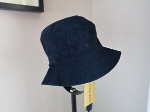 Universal Works Angler Hat Twill Bucket Hat Navy Size M Brand New ... eb1bd3a8f2b