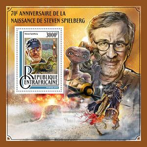 Central-African-Rep-2016-MNH-Steven-Spielberg-70th-1v-SS-Jurassic-Park-ET-Stamps