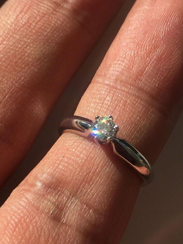 Ring, brillant, Prinsessering