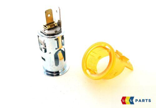 Mini Neu Neu Original Buchse für Zigarettenanzünder + Leuchtend Ring Abdeckung