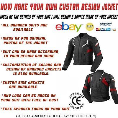 Motorcycle Jacket Motorbike Jacket Riding Jacket Leather Racing Street Custom Ebay