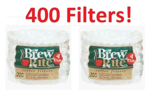 Coffee Maker Cupcake Style 4-Cup Filter 47-201 400