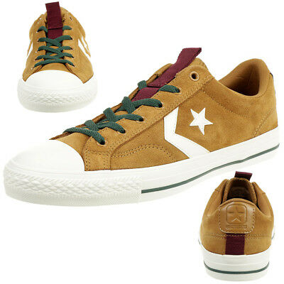 Converse Star Player Ox Shoes Trainers Suede Braun 162566C | eBay