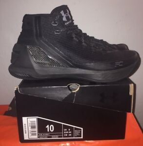 eee5dade095 Under Armour Curry 3 Trifecta Black Men s Size 10 Basketball Shoes ...