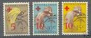 Ned-Nieuw-Guinea-38-40-Rode-Kruis-luxe-postfris-MNH