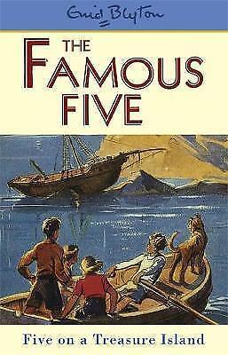 Five On A Treasure Island: Book 1 (Famous Five), Blyton, Enid , Acceptable | Fas