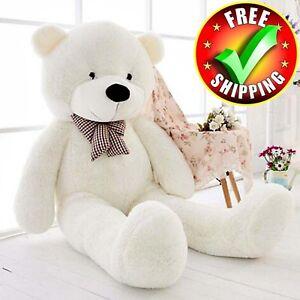 Giant-Plush-Teddy-Bear-47-034-Stuffed-Animal-Soft-Toy-Huge-Large-Jumbo-Gift-New