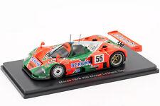 Mazda 787B #55 Winner Le Mans 1991-1//43 Spark Hachette Voiture Miniature 02