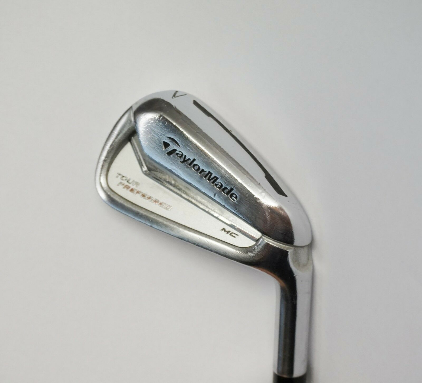 TaylorMade Tour Preferred MC 7 Iron C-Taper 125 Stiff Steel Shaft Lamkin Grip