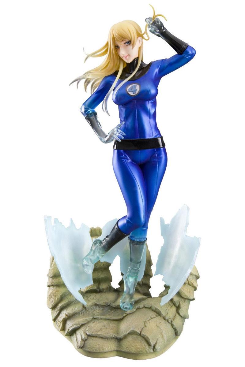 Marvel Bishoujo Fantastic Four Invisible Woman 1 7 Escala PVC Figura Kotobukiya