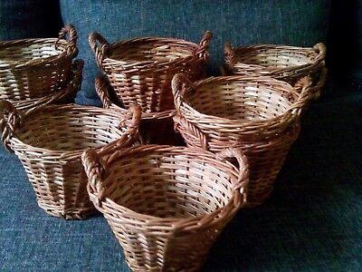 AnpassungsfäHig 10 Stück Kinderkorb Minikorb Dekokorb Blumenübertopf Mehrzweckkorb