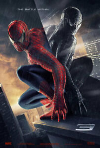 Spider-Man 3 (Zweiseitig Advance) Original Filmposter