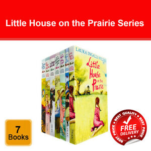 Little House on the Prairie Series Laura Ingalls Wilder 7 Books Collection Set