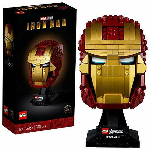 LEGO Marvel Avengers Iron Man Helmet 76165d Open Box