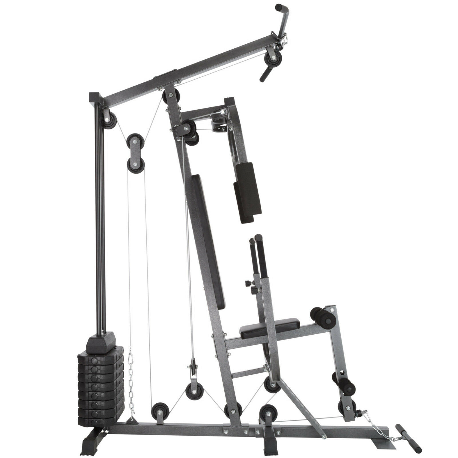 POWER Station Fitness Fitness Fitness Farfalla Gamba estensori LAT discesa Panca 8x4,5kg 079c04